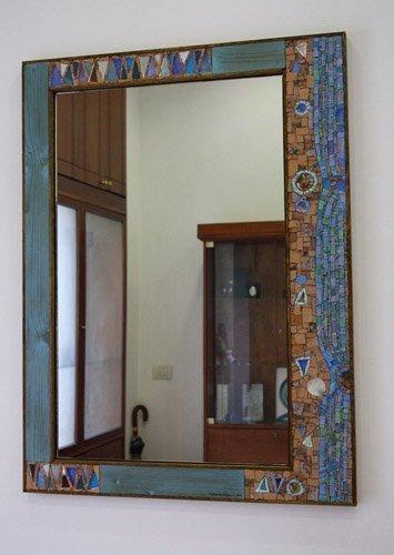 Specchi in mosaico creazioni artigianali di simona canino - Le regole dello specchio ...