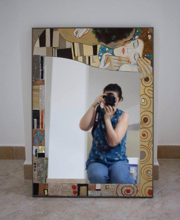 Il Mosaico E Gli Specchi.Specchi In Mosaico Creazioni Artigianali Di Simona Canino