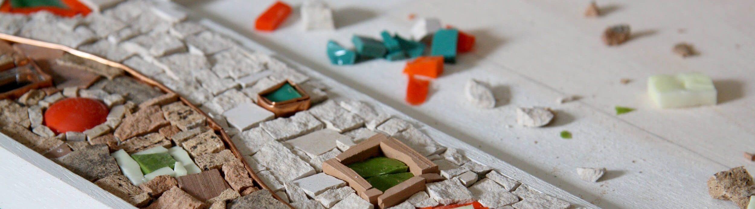 creazioni artigianali in mosaico
