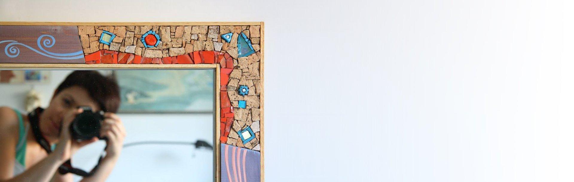 Specchi In Mosaico Creazioni Artigianali Di Simona Canino