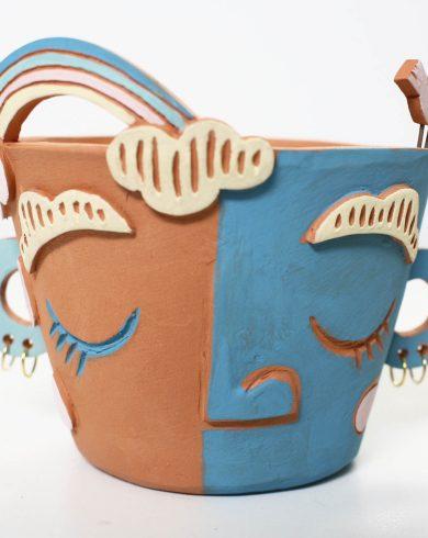 Vasetto in terracotta - ceramica artigianale