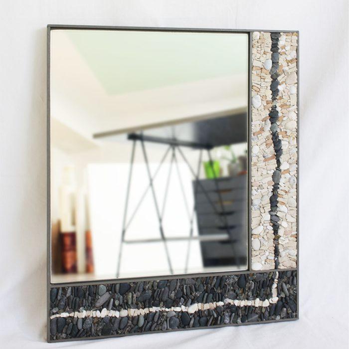 Specchio in mosaico artigianale